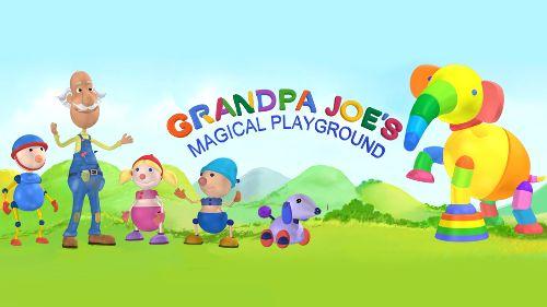 De magische speeltuin van opa Joe