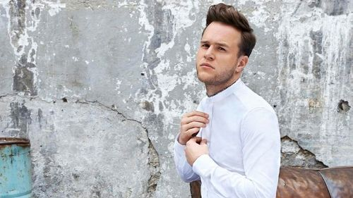 On Set With Olly Murs