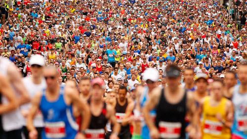 Marathon à Londres, Royaume-Uni