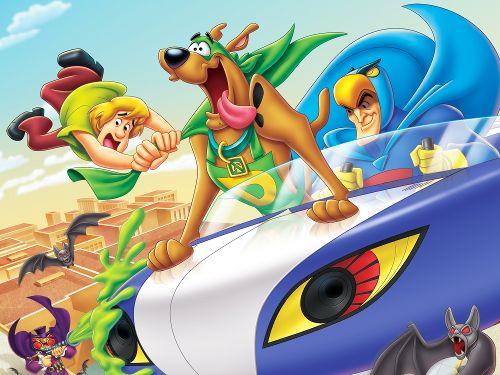 Scooby-Doo! Het masker van de Blauwe Valk