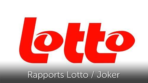 Rapports Lotto / Joker