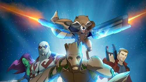 Marvel Guardians Of The Galaxy Shorts