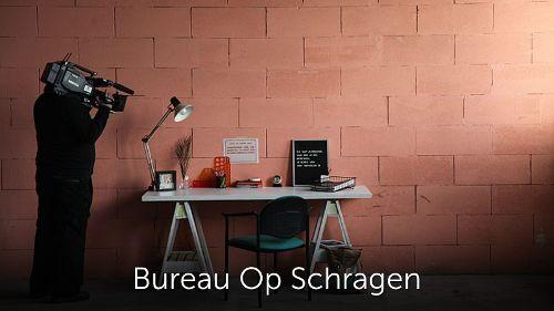 Bureau op schragen