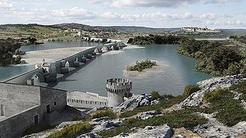 Avignon, le pont retrouvé