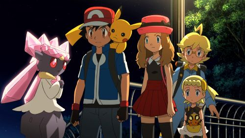 Pokémon 17: Diancie en de cocon der vernietiging
