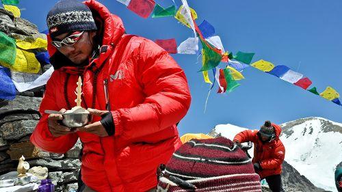Premier sur l'Everest