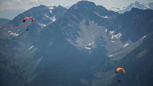 La traversée des montagnes rocheuses