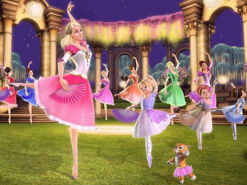 Barbie au bal des 12 princesses
