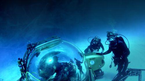 Cooper's Treasure - un trésor vu de l'espace