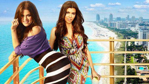 Kourtney & Khloe Take Miami