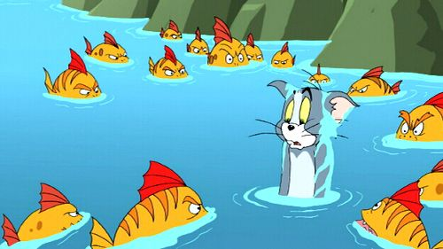 Tom en Jerry: Een bonte race
