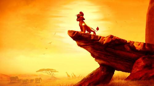 La Garde du Roi lion: Un nouveau cri