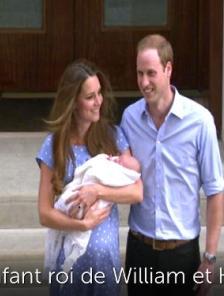 L'enfant roi de William et Kate