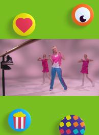 Kuma hé - De hoofd-op-hol-dans