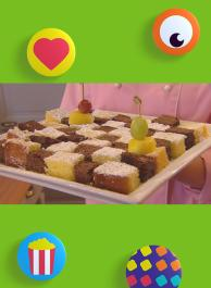 Dambordpatroon - cake