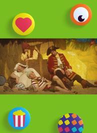 Piet Piraat is op vakantie