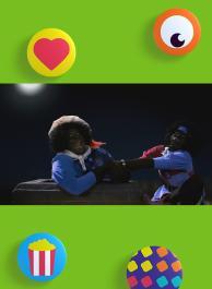 Zwarte Piet zit vast