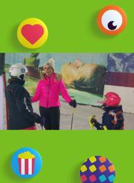 Bakker - Luchtballon - Skiën