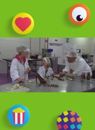 Chocolade - Kleedje maken - Vliegtuig