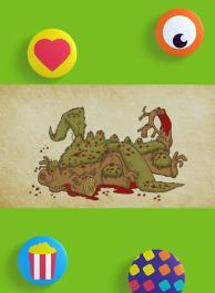 Blob, le dragon bedonnant