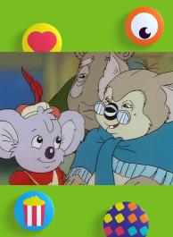 Oma koala's bril