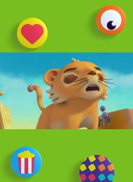 Rugis, lion, rugis