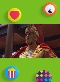 Vijf gouden Nero