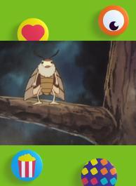 Jackie le papillon de nuit