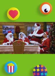 Te veel kerstmannen