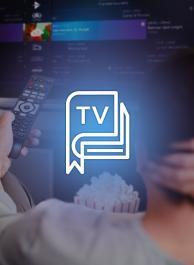 Naar de TV-zenders en TV-gids gaan