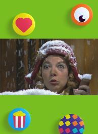 Stien sneeuwvrouw