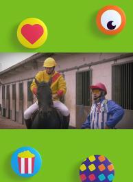 De paardenrace