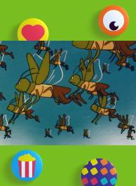 L'invasion des criquets