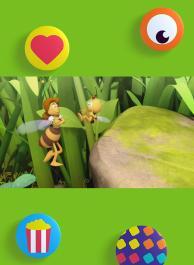 Rechter bijenwas
